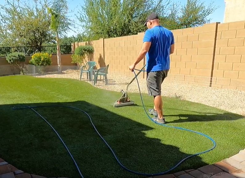 synthetic turf cleaners, artificial grass cleaners